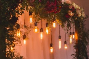 Unique wedding lights