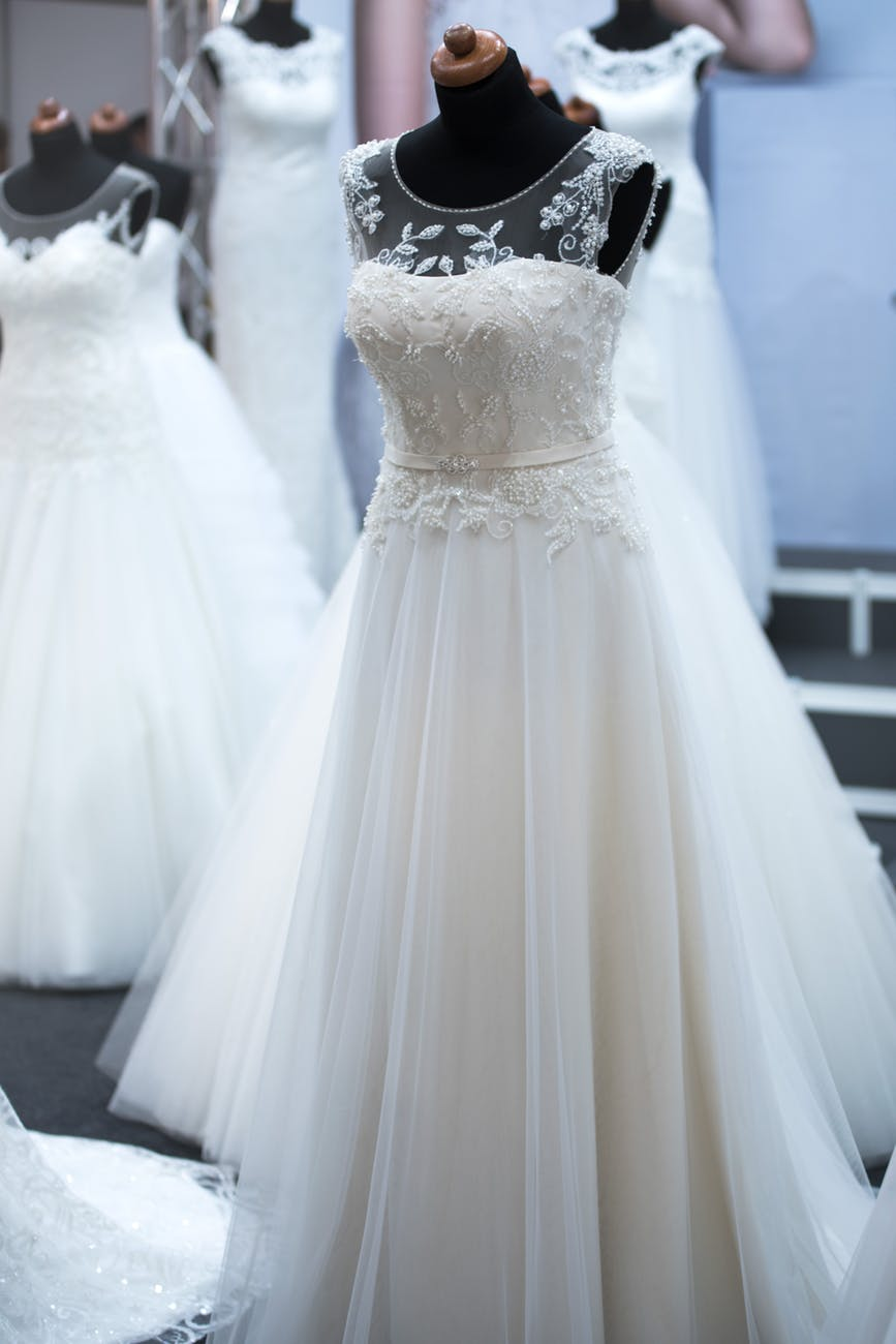 beautiful bridal design dress