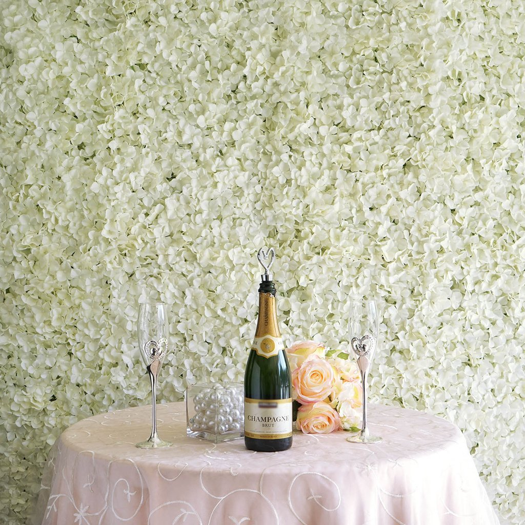 flower wall wedding decor