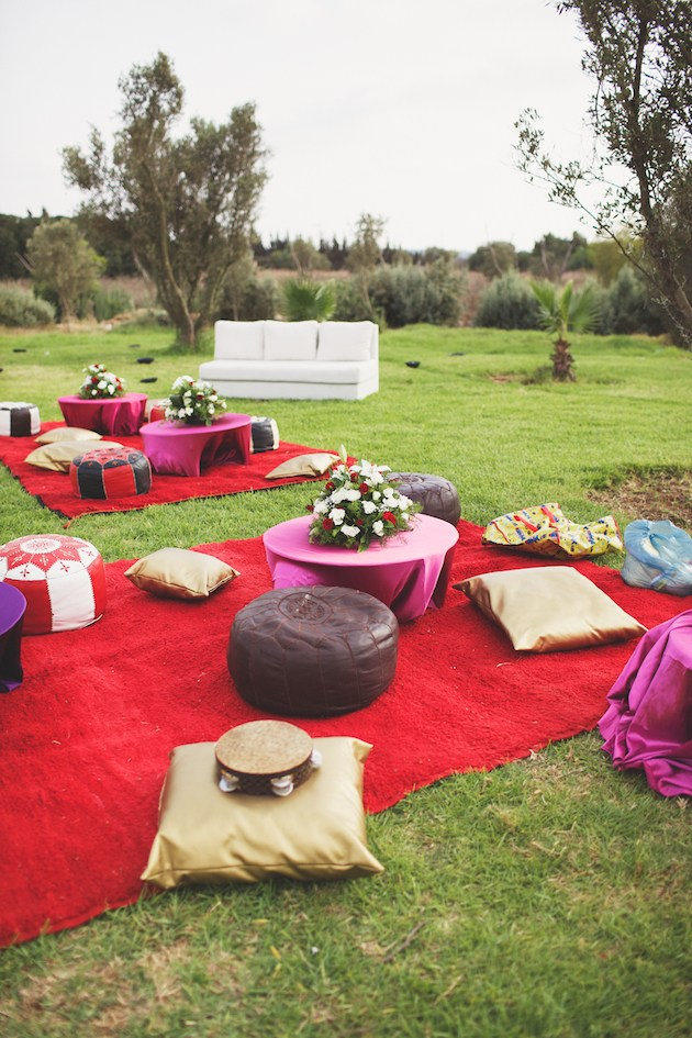 moroccan wedding decor
