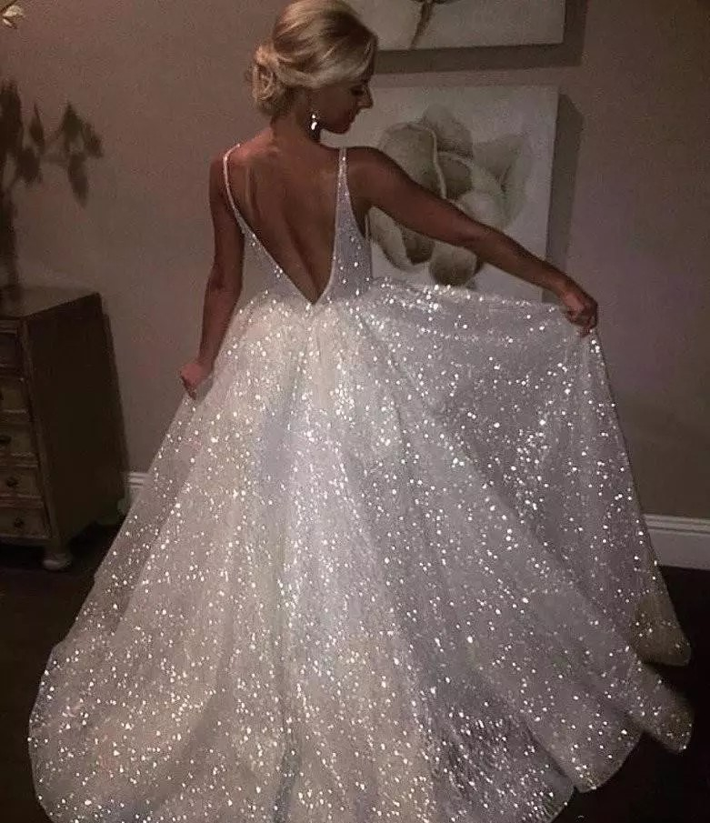 sparkly wedding dress (2)