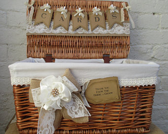 wedding wicker decor