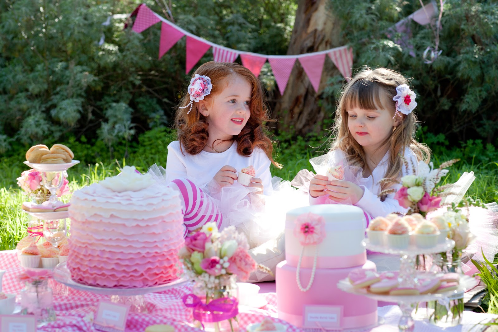 little girl tea party